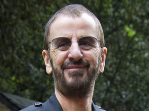 Ringo Starr at a WaterAid event during the Chelsea Flower Show, May 21 2012