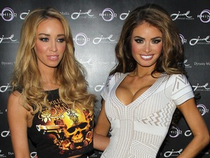 Lauren Pope and Chloe Sims at Jewel Bar Covent Garden.