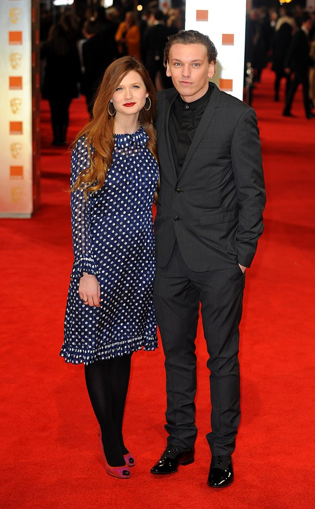 Bonnie Wright and Jamie Bower Campbell
