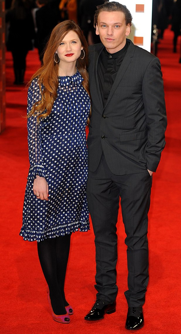 Bonnie Wright and Jamie Campbell Bower, split, engagement