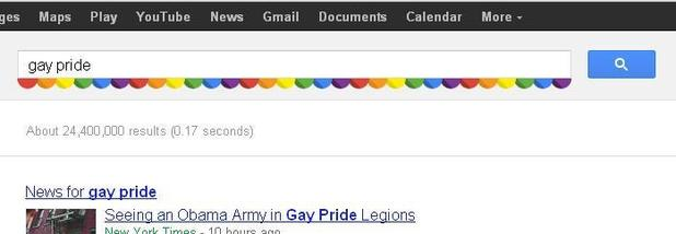 Google Gay Pride