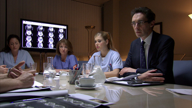 Chantelle Lane in Holby City