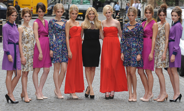 Holly Willoughby launches her Autumn/ Winter 2012 collection for very.co.uk at Claridges London