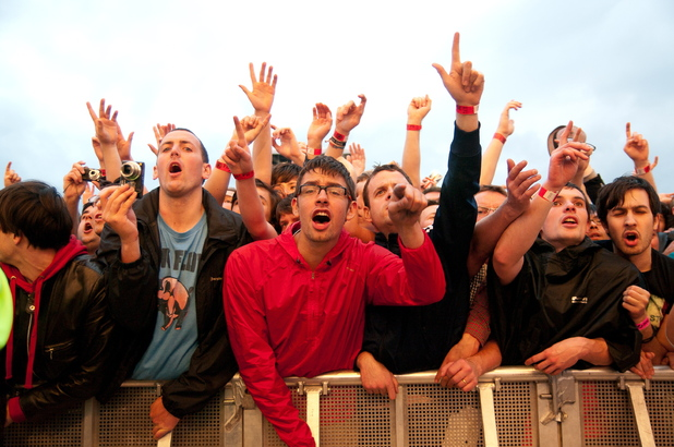 The Stone Roses perform live at Heaton Park: Fans