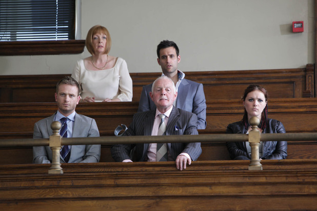 Everyone is shocked as Alicia receives her sentence. David is devastated, blaming himself for how little Alicia fights for her freedom