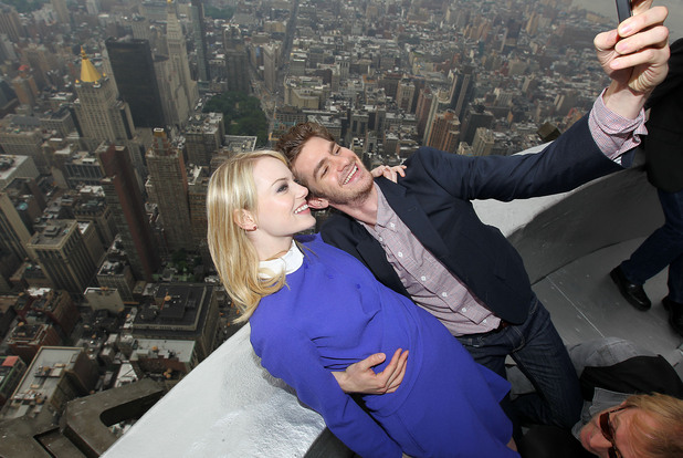 Emma Stone, Andrew Garfield, The Amazing Spider-Man, New York