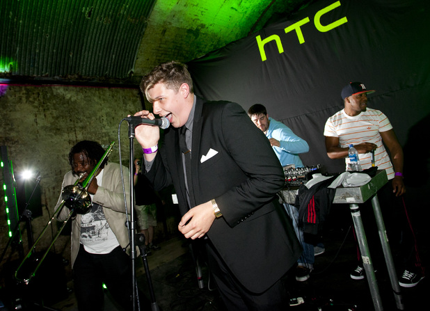 Rudimental and  Jerome Harper at HTC Desire C launch