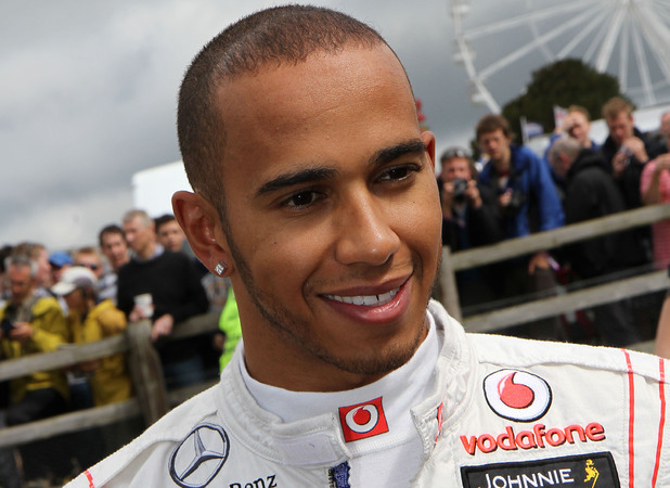 Goodwood Festival of Speed: Lewis Hamilton