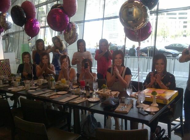 Cheryl Cole celebrates her birthday