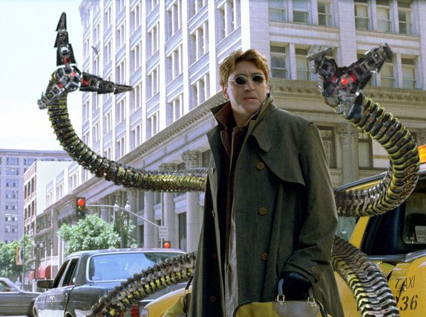 Alfred Molina as villain Doctor Octopus