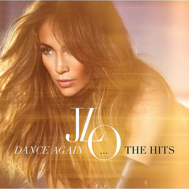 Jennifer Lopez 'Dance Again: The Hits' artwork