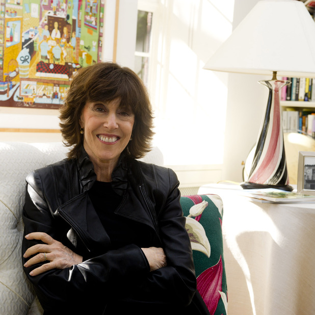 Nora Ephron pictured at home in New York City on November 3, 2010. The screenwriter and director/producer passed away on June 26, 2012 at the age of 71.