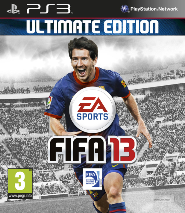 FIFA 13: Ultimate Edition pack shot
