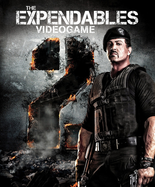 'Expendables 2' key art