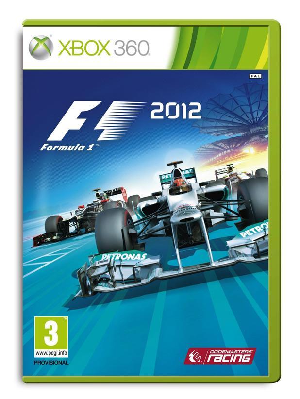 F1 2012 packshots