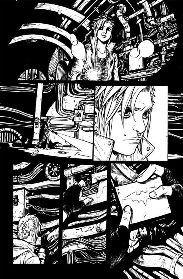 First-look at previewed Becky Cloonan's Batman artwork.