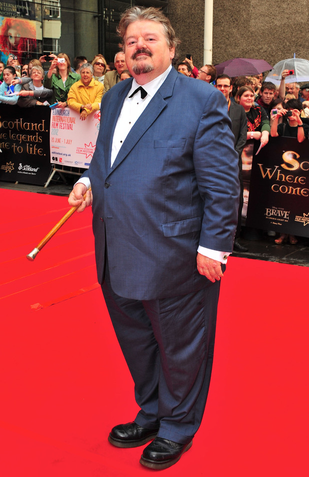 Robbie Coltrane attends the 'Brave' premiere at the Edinburgh International Film Festival 2012.