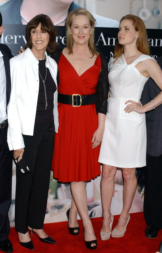 Nora Ephron with Meryl Strep and Amy Adams
