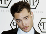 Ed Westwick Philipp Plein press conference as part of Milan Fashion Week Menswear Spring/Summer 2013 Milan, Italy