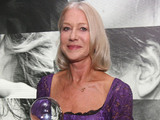 Helen Mirren receives the Lifetime Achievement Award at the 47th Karlovy Vary International film festival.