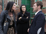 After Carla offers Rob money in the hopes he'll disappear again, the pair break out into an argument