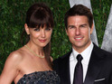 Tom Cruise says that he has dealt with the split by having a sense of humour.