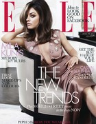 Elle front cover for August 2012