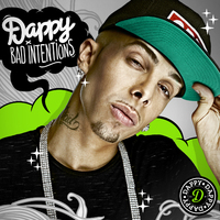 Dappy &#39;Bad Intentions&#39; album artwork.
