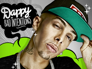 Dappy 'Bad Intentions' album artwork.