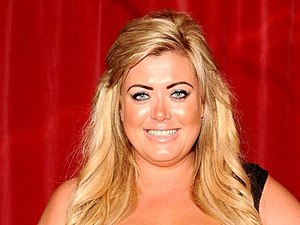 Gemma Collins at the UK premiere of &#39;Katy Perry: Part of Me&#39; in Leicester Square