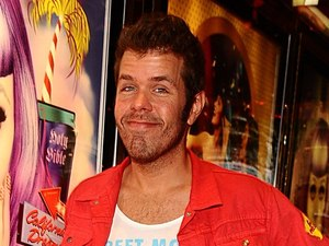 Perez Hilton at the UK premiere of 'Katy Perry: Part of Me' in Leicester Square