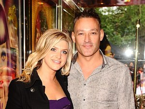Toby Anstis with a guest at the UK premiere of 'Katy Perry: Part of Me' in Leicester Square