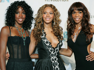 Kelly Rowland, Beyonce Knowles, and Michelle Williams of Destiny's Child