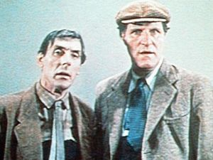 Eric Sykes and Tommy Cooper in 'The Plank' (1967)