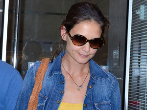 Katie Holmes in New York City.