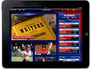 Sky Sports iPad App with split screen streaming