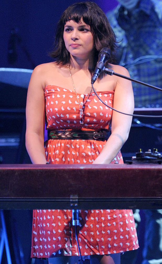 Norah Jones performs tracks from her album 'Little Broken Hearts' at Massey Hall, Toronto.