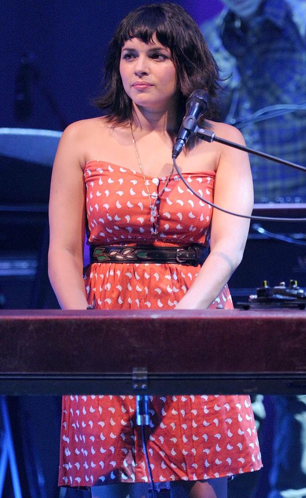 Norah Jones performs tracks from her album 'Little Broken Hearts' at Massey Hall, Toronto.