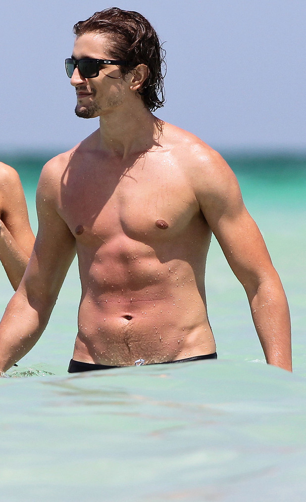Candice Swanepoel and boyfriend Hermann Nicoli in Miami, Florida, America - 03 Jul 2012 Subhead: Candice Swanepoel, Hermann Nicoli