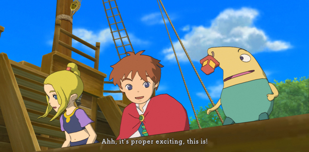 'Ni No Kuni: Wrath of the White Witch' screenshot
