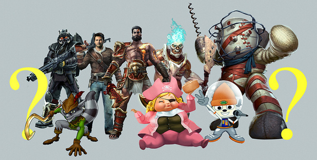 Playstation All Star Battle Royale characters