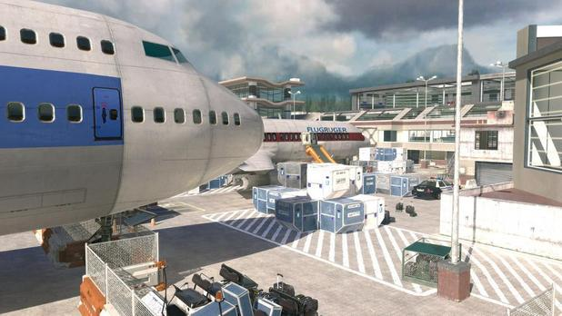 Modern Warfare 2 Terminal map