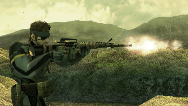 Following two spin-offs, the PSP got its own fully fledged Metal Gear game with Portable Ops (2007)
