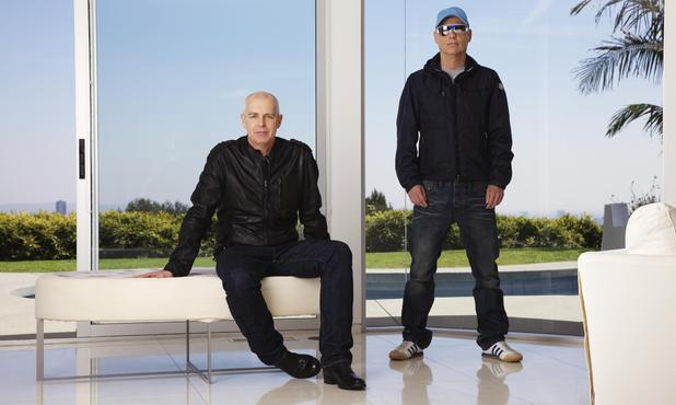 Pet Shop Boys Neil Tennant and Chris Lowe
