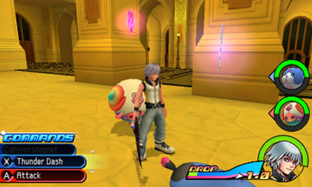 Screenshot of the Kingdom Hearts (3D) Dream Drop Distance