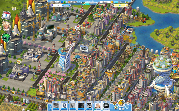 'SimCity Social' screenshot
