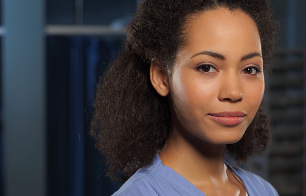 Madeleine Mantock as Scarlett in Casualty
