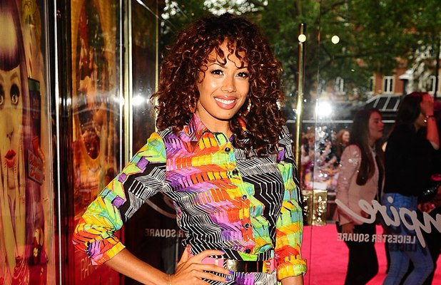 Jade Ewen at the UK premiere of 'Katy Perry: Part of Me' in Leicester Square