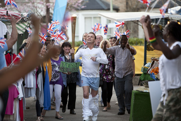 Billy Mitchell's Olympic special in EastEnders