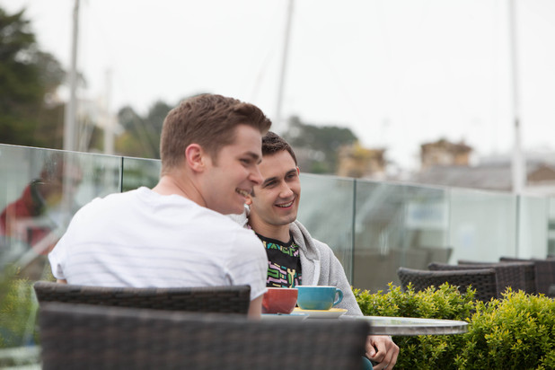 Hollyoaks George and Ryan in the Abersoch episodes
